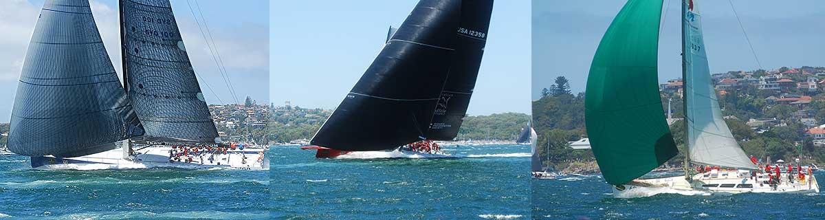 Sydney Hobart Yacht Race Start - Yacht Charter