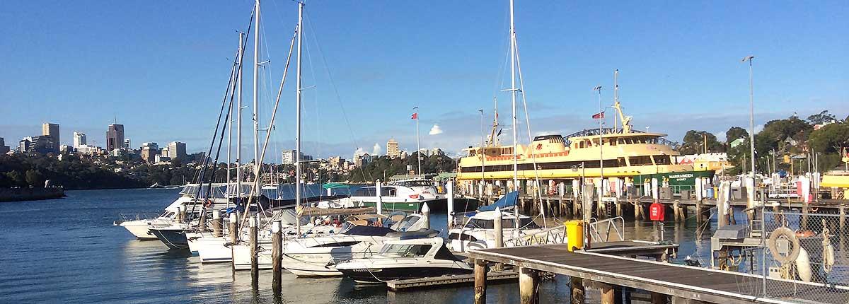 Yacht Charters Balmain - Mort Bay