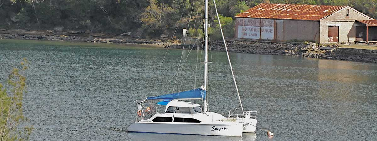 Catamaran Charter Bantry Bay, Sydney